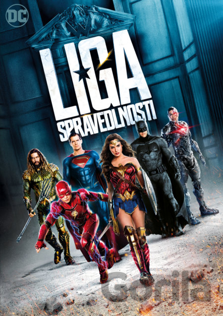 DVD Justice League - Liga spravedlnosti (DVD) - Zack Snyder