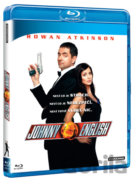 Blu-ray Johnny English (Blu-ray) - Peter Howitt
