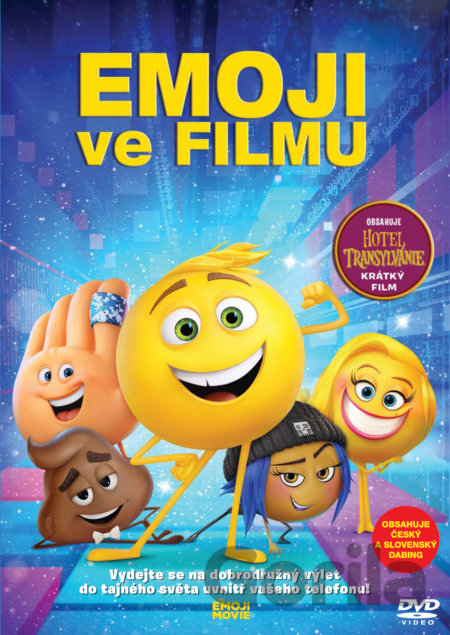 DVD Emoji ve filmu (DVD 2017) - Anthony Leondis