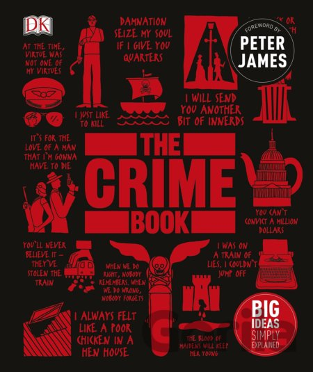Kniha The Crime Book: Big Ideas Simply Explained (H... (DK, Peter James) - Peter James