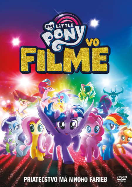 DVD My Little Pony vo filme (DVD) - Jayson Thiessen