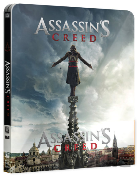 Steelbook Assassin's Creed (2016 - 3D + 2D - Blu-ray) - Steelbook - Justin Kurzel