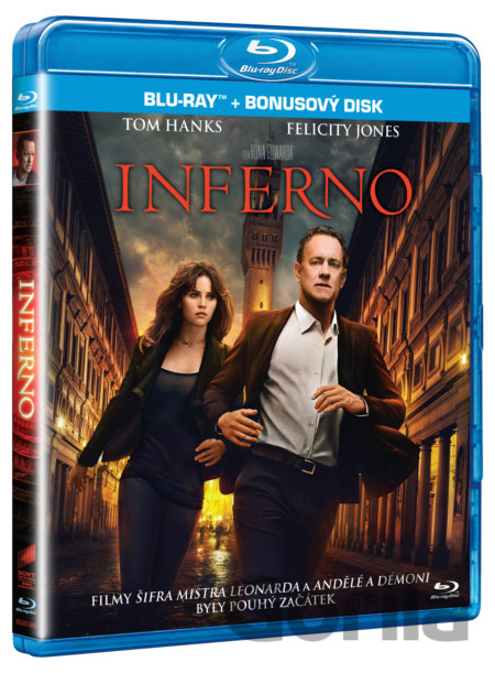 Blu-ray Inferno (2 x Blu-ray) - Ron Howard
