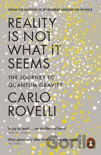 Kniha Reality Is Not What It Seems - Carlo Rovelli