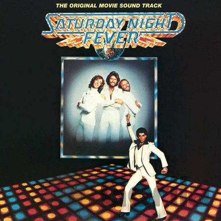 CD album Saturday Night Fever Soundtrack LP