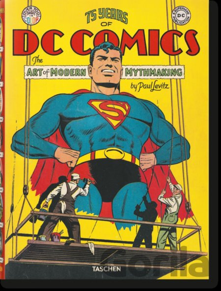 Kniha 75 Years of DC Comics - Paul Levitz