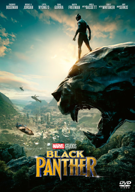 DVD Black Panther (DVD) - Ryan Coogler
