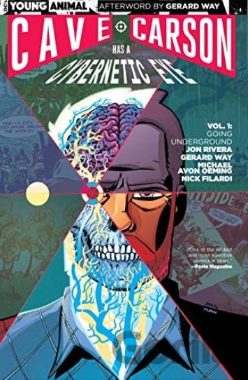 Kniha Cave Carson Has a Cybernetic Eye (Volume 1) - Gerard Way, Jon Rivera