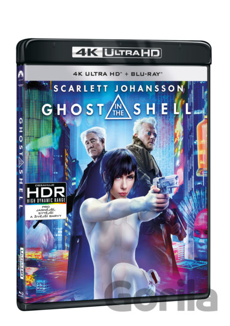 UltraHDBlu-ray Ghost in the Shell (2017 - UHD + BD - 2 x Blu-ray - CZ titulky) - Rupert Sanders