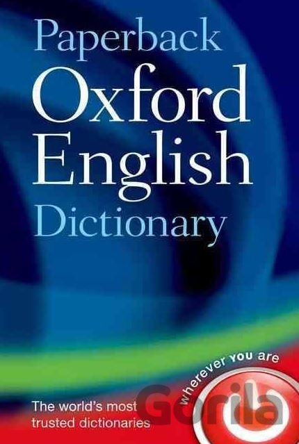 Kniha Paperback Oxford English Dictionary -