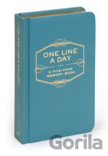 Kniha One Line a Day: A Five-Year Memory Book -