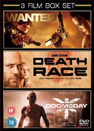 DVD Wanted / Death Race / Doomsday [2008] - Timur Bekmambetov, Paul W.S. Anderson, Neil Marshall