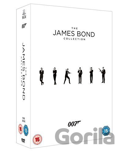 DVD James Bond - 23 Film Collection [2015] - Terence Young, Guy Hamilton, Lewis Gilbert, Peter Hunt, John Glen
