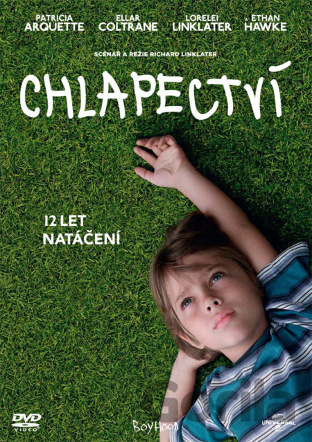 DVD Chlapectví  (Oscar edice) - Richard Linklater