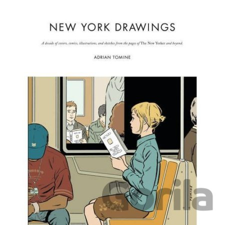 Kniha New York Drawings (Adrian Tomine) (Hardcover) - Adrian Tomine