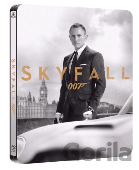Steelbook James Bond 007 - Skyfall (2012 - Blu-ray - Steelbook) - Sam Mendes