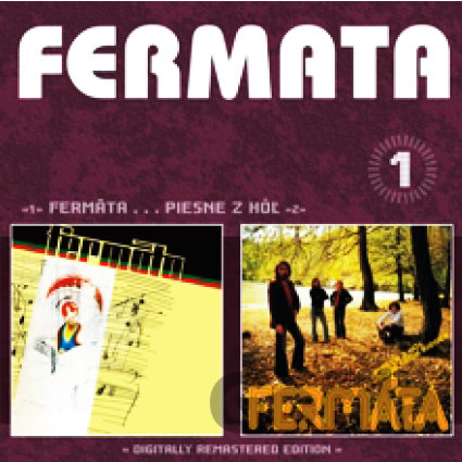 CD album FERMATA: FERMATA / PIESEN Z HOL (1) (  2-CD)
