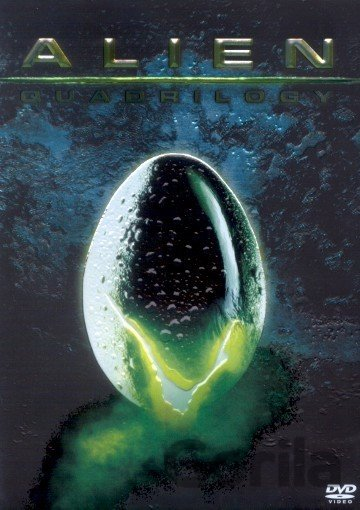 DVD Alien Quadrilogy / Vetřelec Quadrilogy (9 DVD) - Ridley Scott