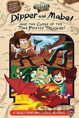 Kniha Gravity Falls: Dipper and Mabel and the Curse of the Time Pirates' Treasure! (Je - Jeffrey Rowe