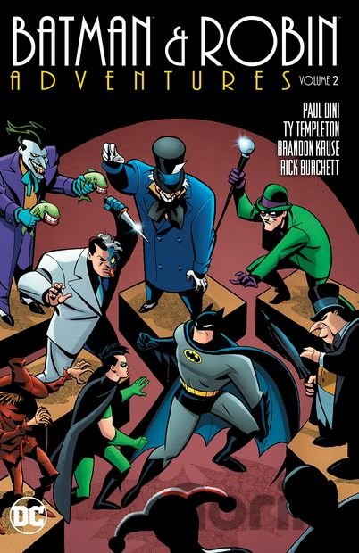 Kniha Batman and Robin Adventures (Volume 2) (Ty Templeton) - Ty Templeton