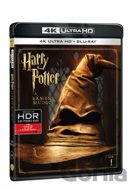 UltraHDBlu-ray Harry Potter a Kámen mudrců (Ultra HD Blu-ray) - Chris Columbus
