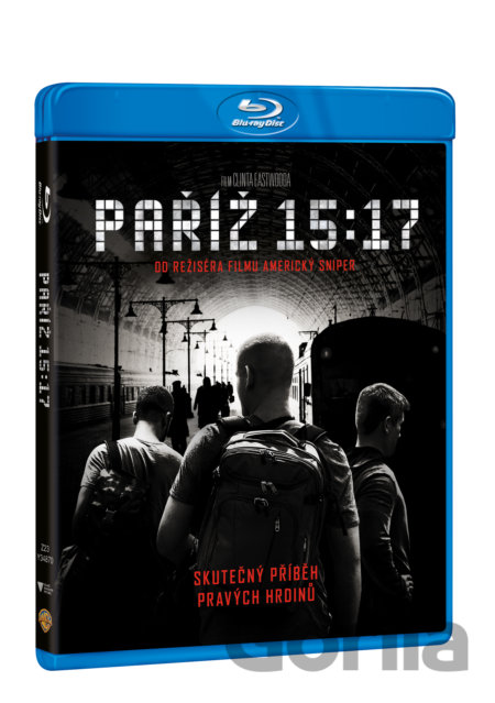 Blu-ray 15:17 Paríž (Blu-ray) - Clint Eastwood