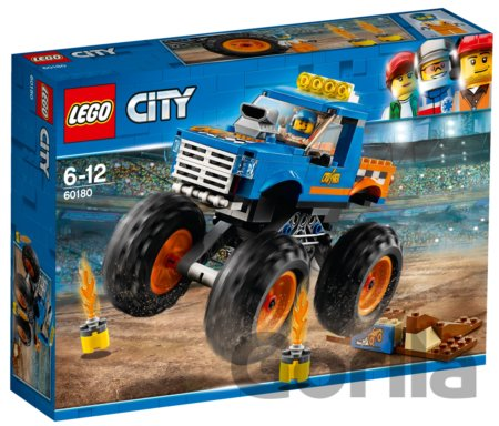 Hra LEGO City Great Vehicles 60180 Monster truck