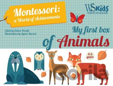 Kniha My First Box of Animals (Agnese Baruzzi) - Agnese Baruzzi