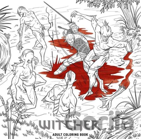 Kniha The Witcher Adult (Coloring Book) -