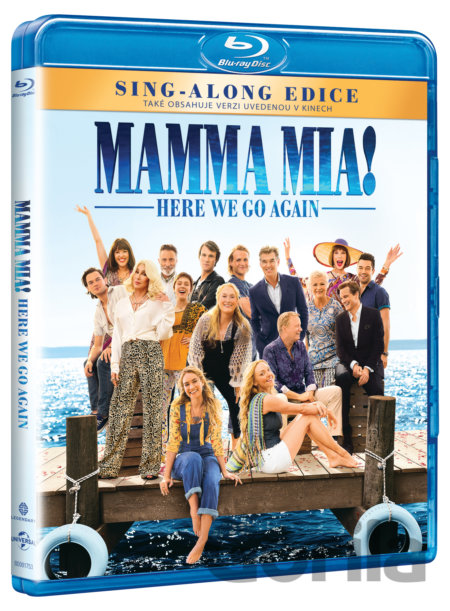 Blu-ray Mamma Mia! Here We Go Again (Blu-ray) - Ol Parker