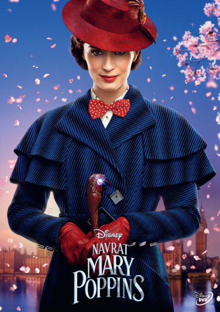 DVD Mary Poppins se vrací (DVD) - Rob Marshall