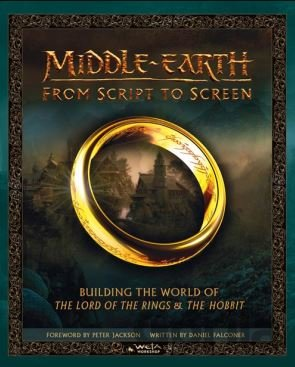 Kniha Middle-Earth - Daniel Falconer