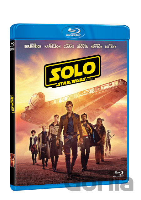 Blu-ray Solo: A Star Wars Story (Blu-ray) - Ron Howard
