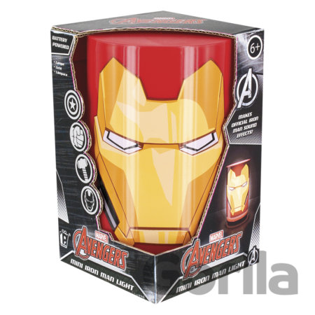 Mini lampa Iron Man