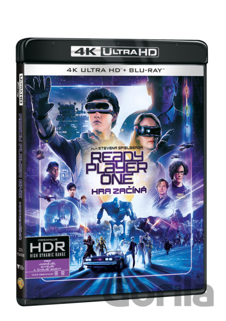 UltraHDBlu-ray Ready Player One: Hra začíná Ultra HD Blu-ray (UHD + BD) - Steven Spielberg