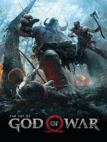 Kniha The Art of God of War -