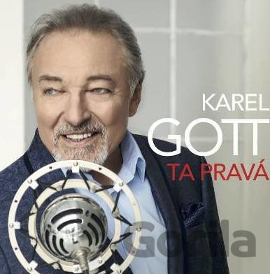 CD album Karel Gott: Ta pravá (Karel Gott)