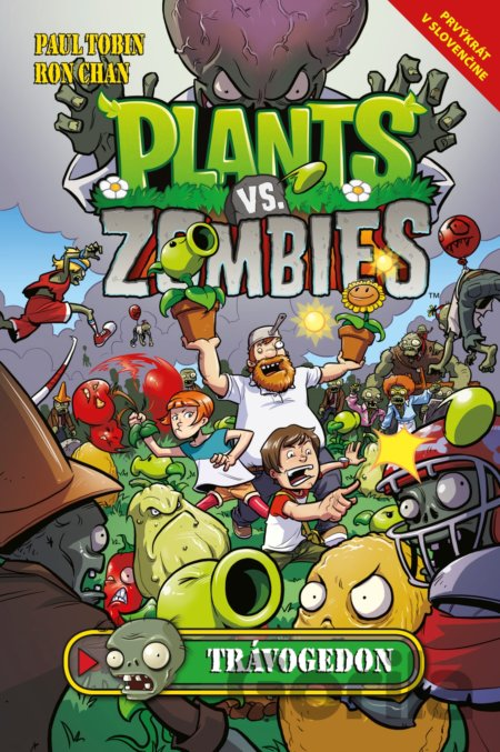 Kniha Plants vs. Zombies: Trávogedon (Paul Tobin, Ron Chan) - Paul Tobin, Ron Chan