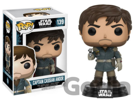 Funko POP! Kapitán Cassian Andor - Star Wars