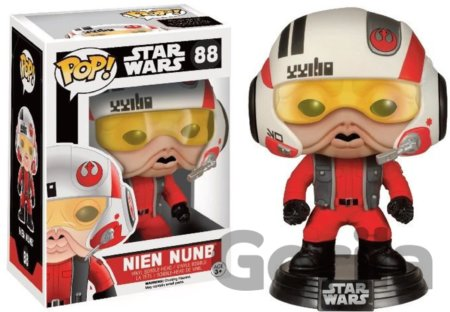 Funko POP! Nien Nunb s helmou - Star Wars