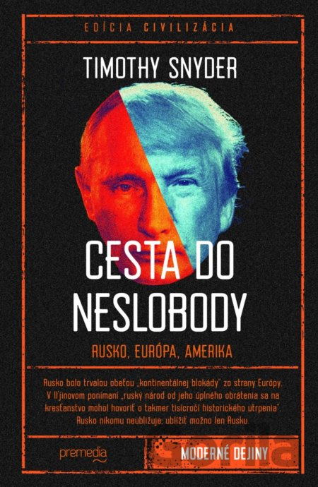 Kniha Cesta do neslobody - Timothy Snyder