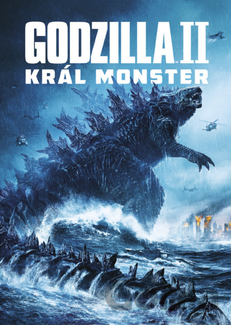 DVD Godzilla II Král monster - Michael Dougherty