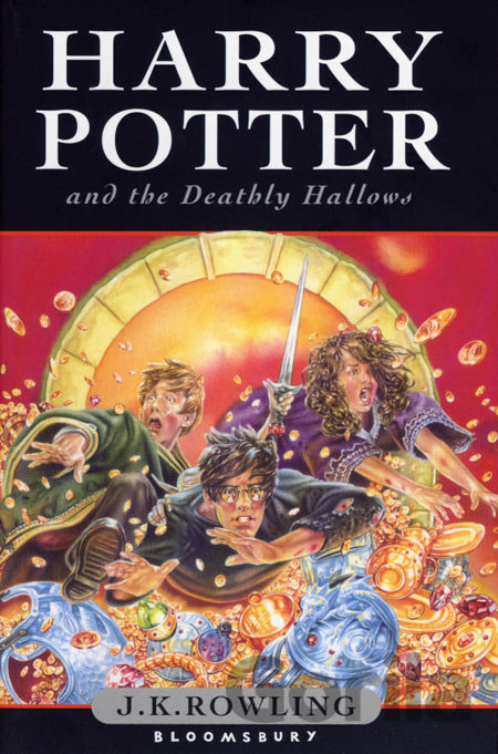 Kniha Harry Potter and the Deathly Hallows (J. K. Rowling) (Hardback) - J.K. Rowling