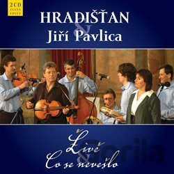 CD album HRADISTAN & J.PAVLICA: LIVE & CO SE NEVESLO (2CD) (  2-CD)