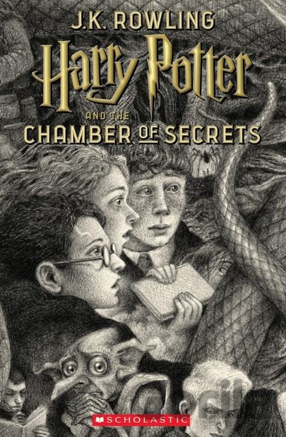 Kniha Harry Potter and the Chamber of Secrets - J.K. Rowling
