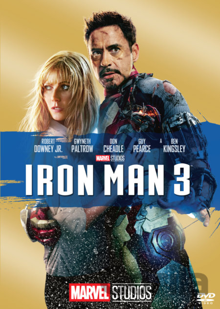DVD Iron Man 3 - Shane Black