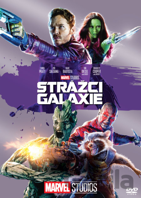 DVD Strážci Galaxie - James Gunn