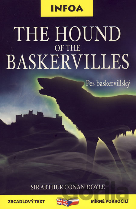 Kniha The Hound of the Baskervilles / Pes baskervillský - Arthur Conan Doyle