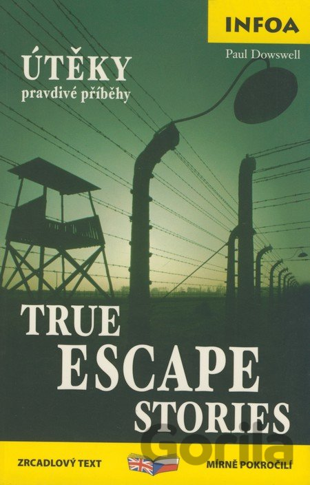 Kniha True Escape Stories (Paul Dowswell) [EN] - Paul Dowswell