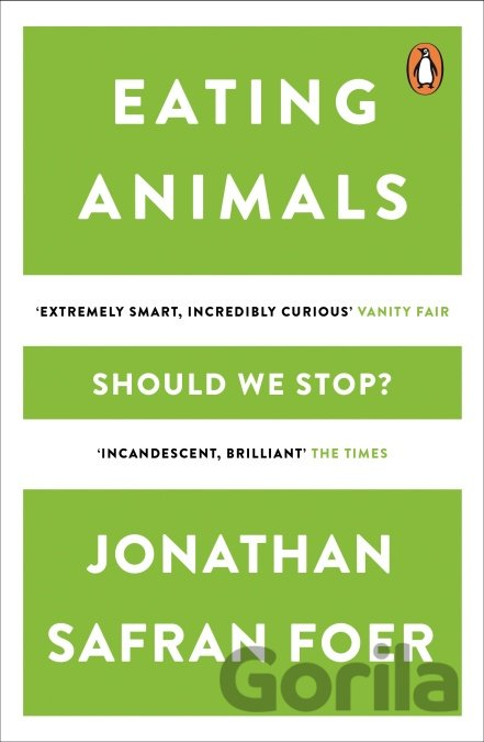 Kniha Eating Animals - Jonathan Safran Foer